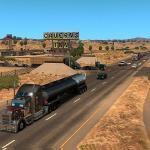 American Truck Simulator bus