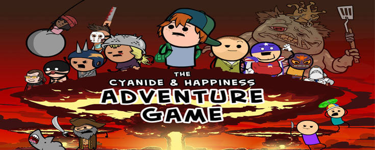 Cyanide & Happiness Adventure free download