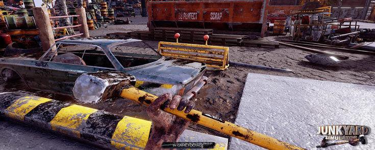 junkyard simulator steam game