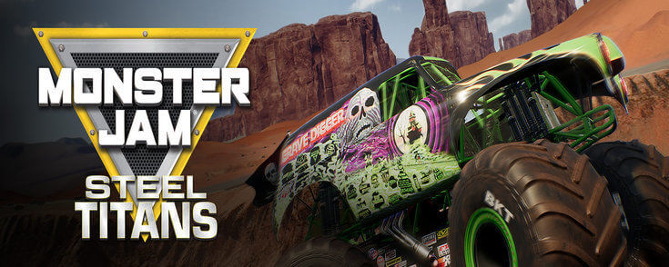 Monster Jam Steel Titans crack download