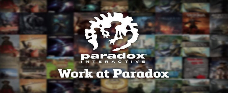 Paradox Development Studio game publisher